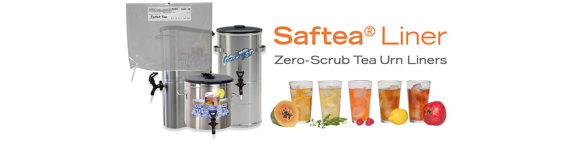Saftea Liners fit most standard size urns.